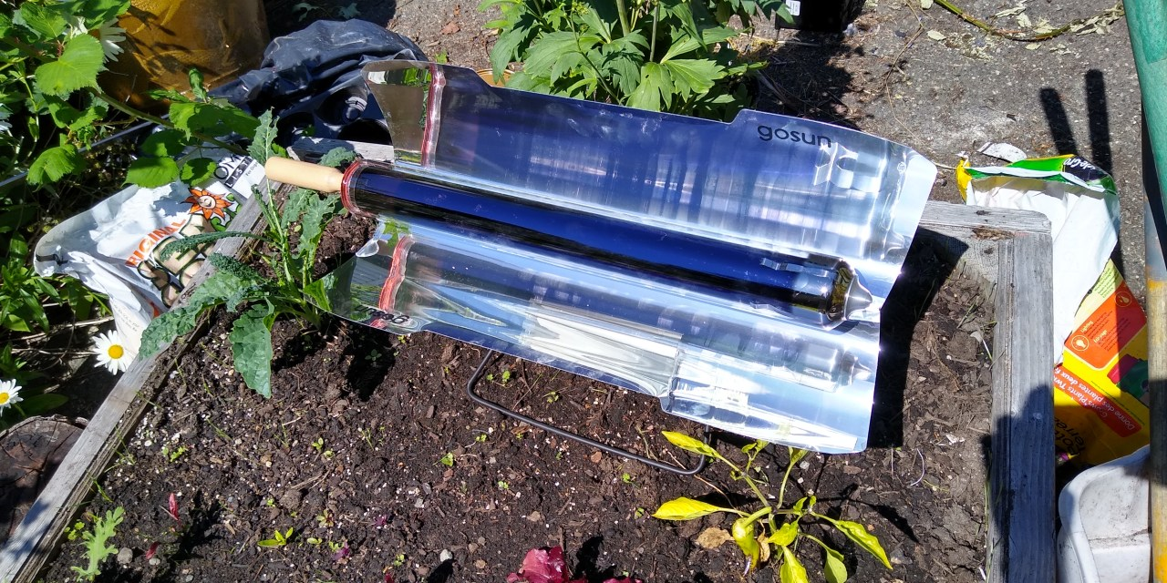 Brexit, Solar Cooking and some second hand parts