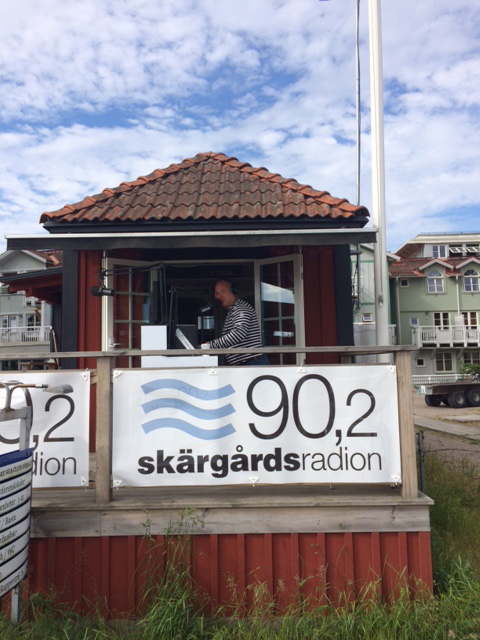 Let's get it on: Skarsgard radio cranks out the beats