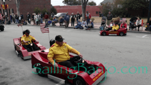 2018 Sudan Shriner's Parade in New Bern, NC Mini Formula 1 Cars