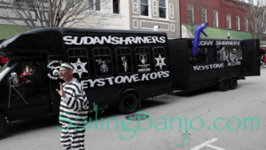 2018 Sudan Shriner's Parade in New Bern, NC Keystone Kops