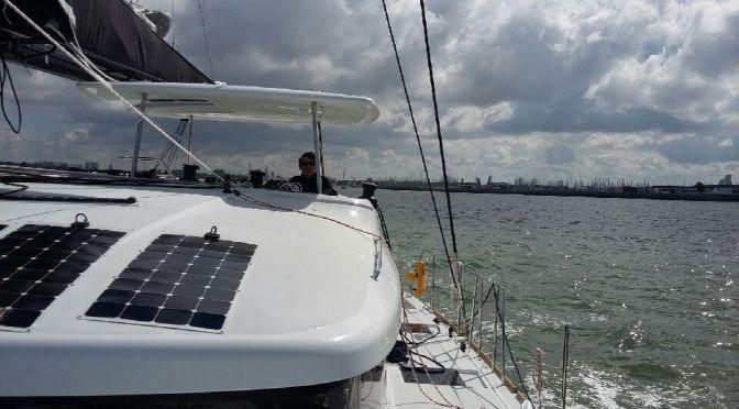 Premier essai en mer à La Rochelle
