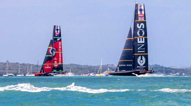 America's Cup : Christmas Race