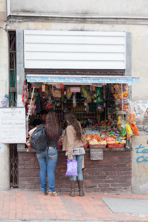 A Typical Bodega in Bogota, Colombia