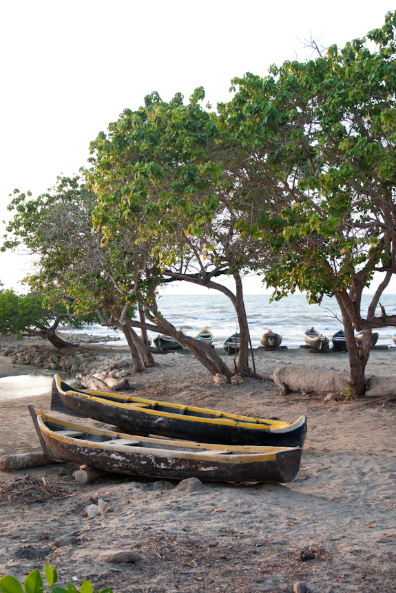 Tolu Colombia Beach Boats