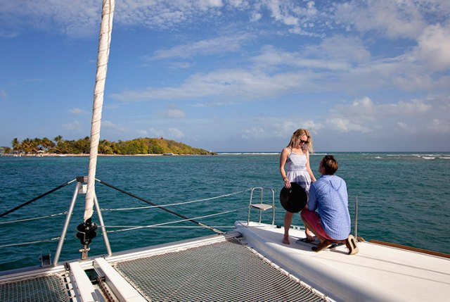Magical proposal on a catamaran in Guadeloupe