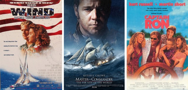 A comprehensive list of 70 sailing movies