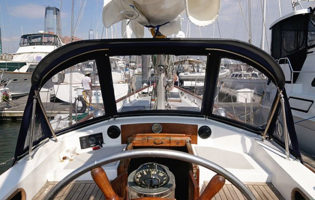 A new dodger can make a big difference to your sailing vessel