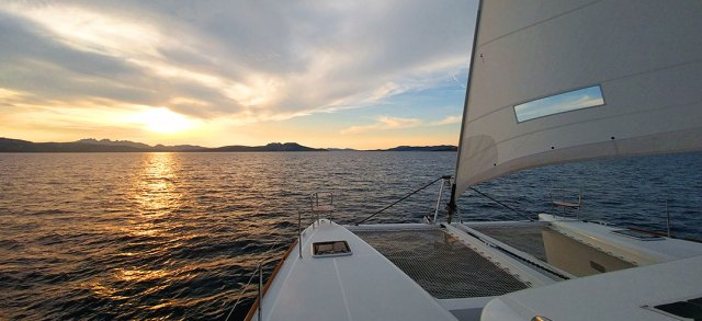 Sailing, Sardinia and Sunsets