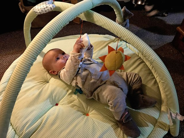 Must have baby items that don't take up a ton of space.
