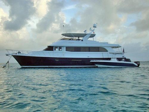 Island Girl Crewed Power Yacht Charter Virgin Islands
