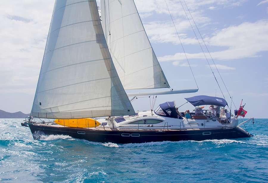 Sayang Crewed Sailing Yacht Charter British Virgin Islands