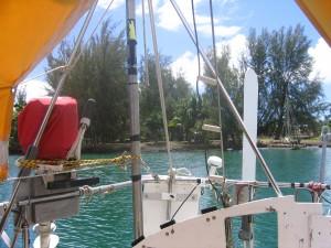 Anchored in Radio Bay, Hilo