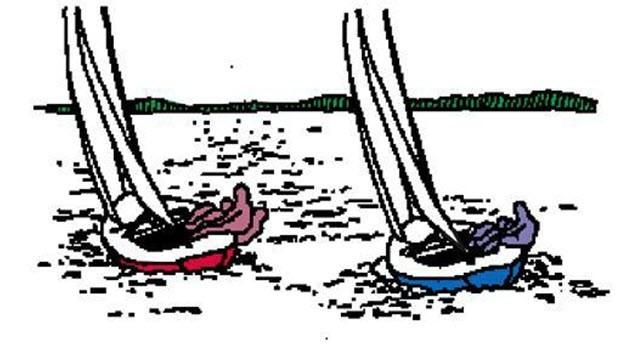 Tactics: Sail the longer tack first >> Scuttlebutt Sailing