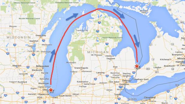 Super Mackinac Race 568 Miles Of Great Lakes Sailing