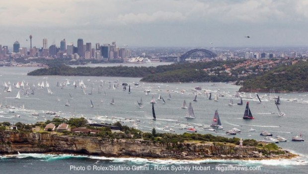 Sydney Hobart Chinese Entry Ark323 Out Of The Race