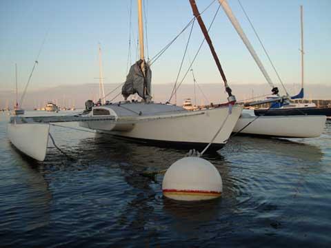 Kurt Hughes Trimaran 19872005 Maine Sailboat For Sale
