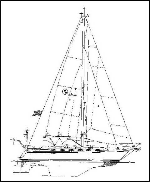 Caliber 40LRC sailboat for sale