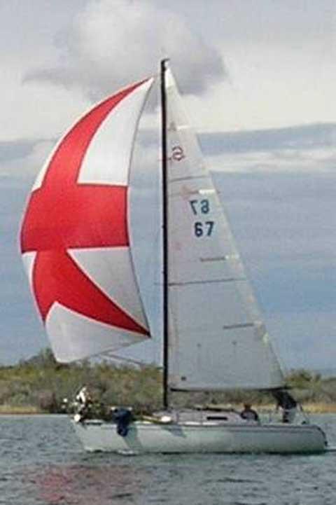 Santana 23 D sailboat for sale