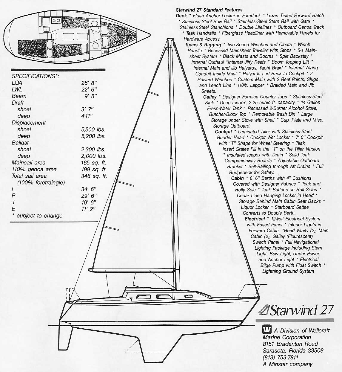 Starwind 27 Sailboat Photo Gallery