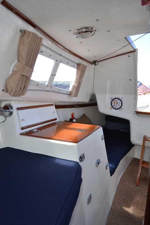West Wight Potter 19 1988 San Francisco California sailboat for sale from Sailing Texas