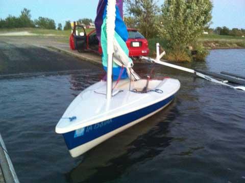 Sunfish Laser Zuma Des Moines Iowa Sailboat For Sale