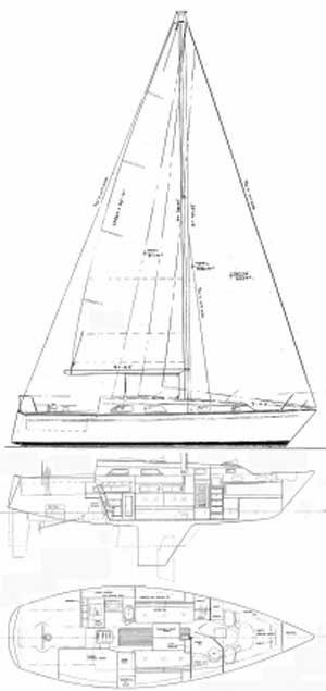 Pearson P34, 1984, Muskegon, Michigan, sailboat for sale