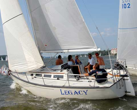 S2 91 Meter 1985 Louisville Kentucky Sailboat For