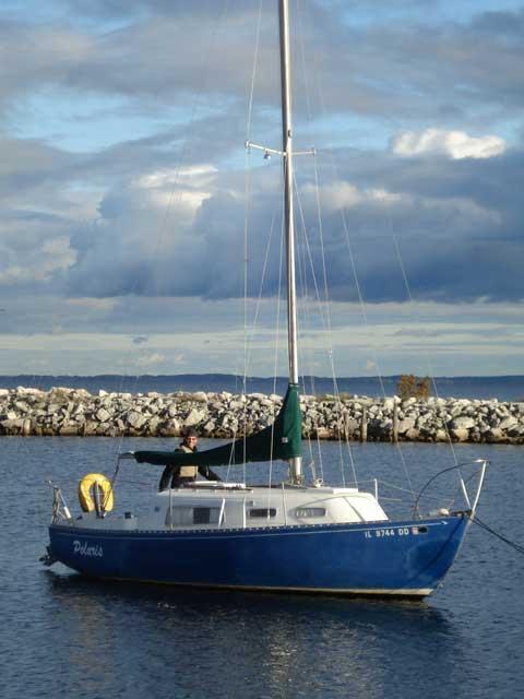 Grampian 26 1976 Oconto Wisconsin Sailboat For Sale