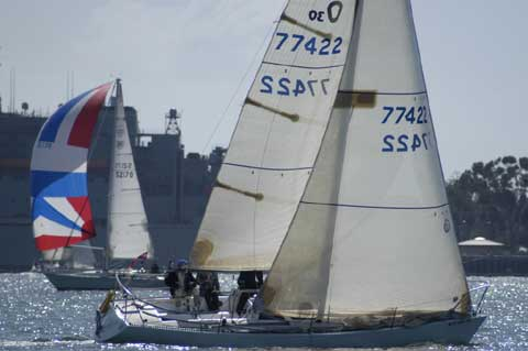 Olson 30 1980 San Diego California Sailboat For Sale