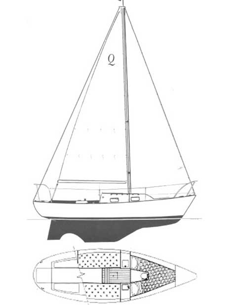 Quickstep 24, 1989, Lewes, Delaware, sailboat for sale