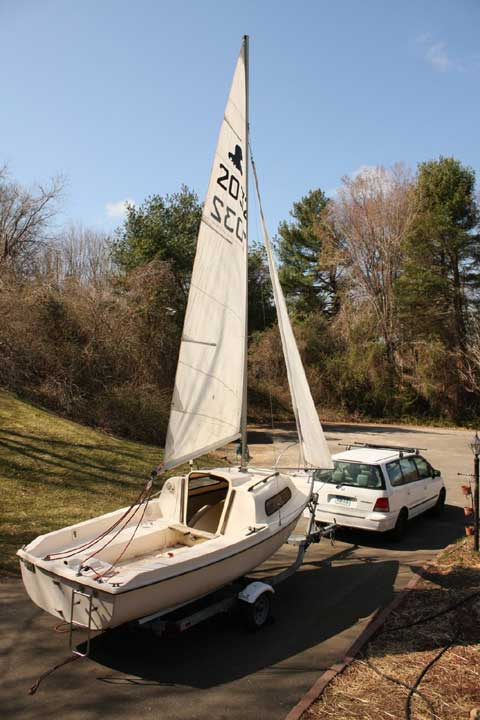 Siren 17 1980s Guilford Connecticut Sailboat For Sale
