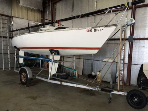 Santana 20 1977 St Louis Missouri Sailboat For Sale