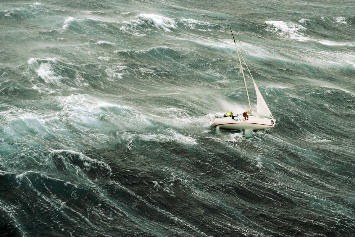 hight resolution of survival storm conditions in the infamous 1998 sydney hobart race are you prepared to
