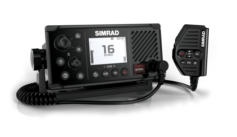medium resolution of simrad s new fixed mount rs40 vhf radio does more than merely transmit and receive it also includes an integral dual channel gps receiver that can be used