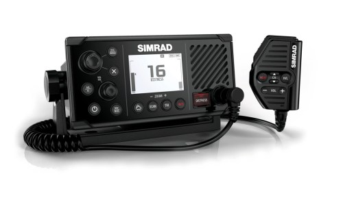 small resolution of simrad s new fixed mount rs40 vhf radio does more than merely transmit and receive it also includes an integral dual channel gps receiver that can be used