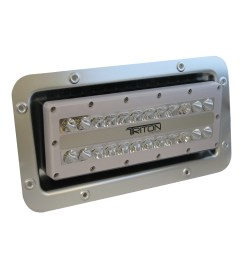 lumitec triton led semi recessed ip67 flood light 12 24 120 or 240 volt led light wiring diagram 12 volt led marine flood [ 1000 x 1000 Pixel ]