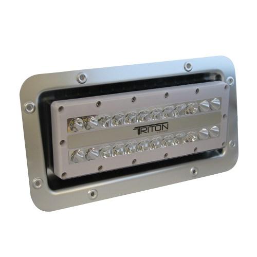 small resolution of lumitec triton led semi recessed ip67 flood light 12 24 120 or 240 volt led light wiring diagram 12 volt led marine flood