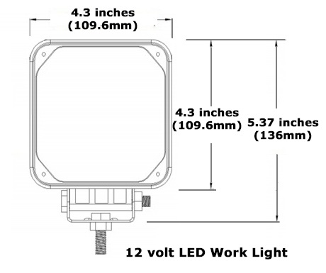 Square LED IP67 Deck Light by Bee Green LED