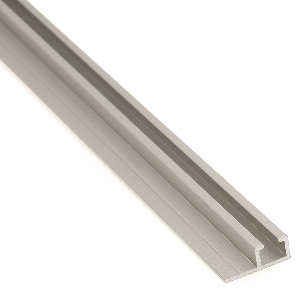 curtain track horizontal aluminum 48