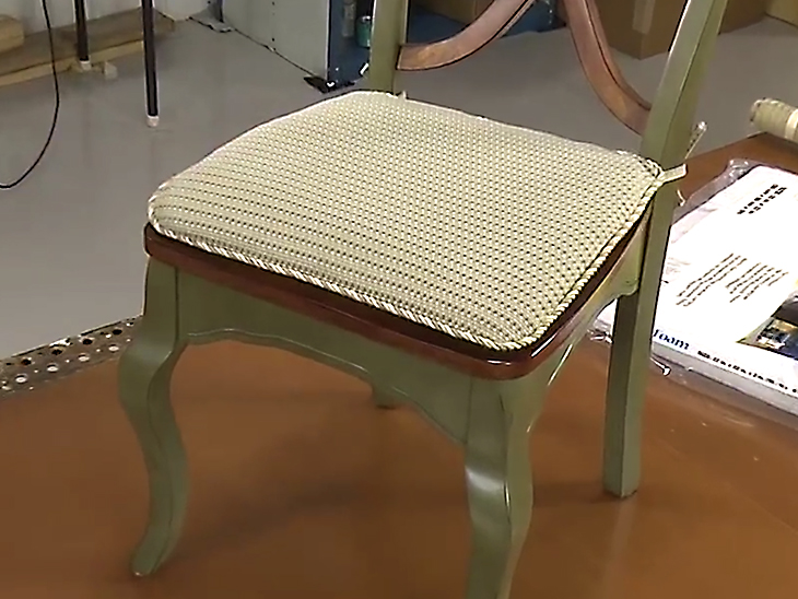 chair covers make your own floor mats for office chairs how to pad cushions video sailrite tie on