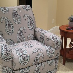 Diy Reupholster Living Room Chair False Ceiling Designs For Small In Flats How To A Recliner Video Sailrite