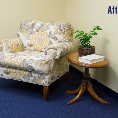 Diy Reupholster Living Room Chair Earth Tone Colors For How To An Armchair Video Sailrite Finished Reupholstered