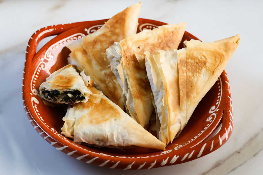 Super Greens Spanakopita | Sails & Spices