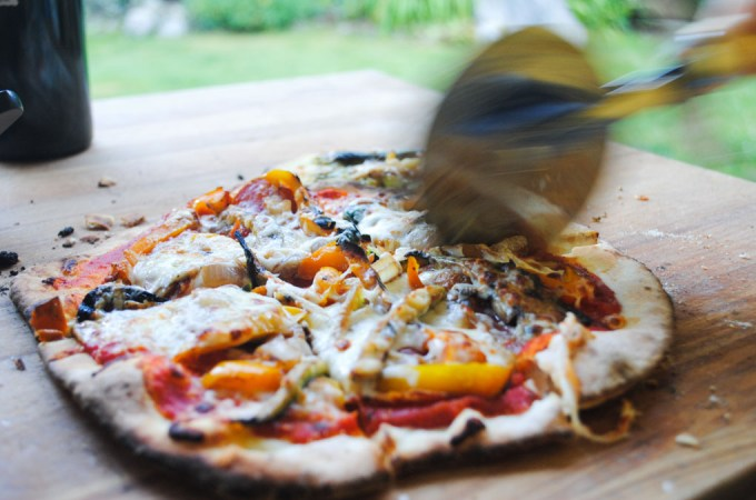 Thin Crust Pizza Dough Recipe | Sails & Spices