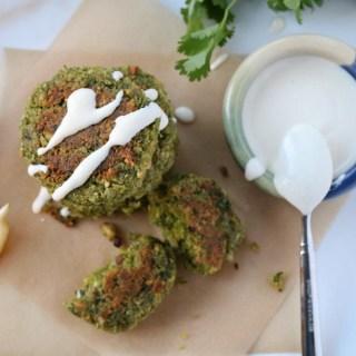 Healthy Baked Hazelnut Falafel | Sails & Spices