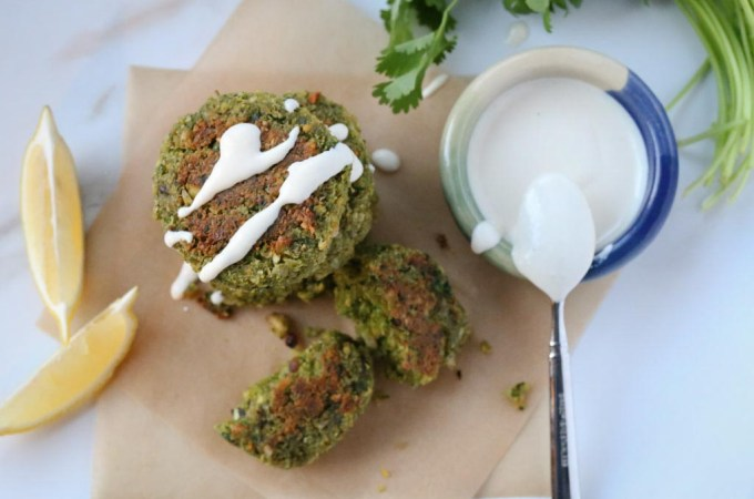 Healthy Baked Hazelnut Falafel | Sails & Spices