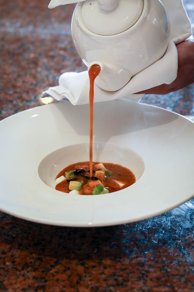 Tortilla Soup at The Ritz-Carlton