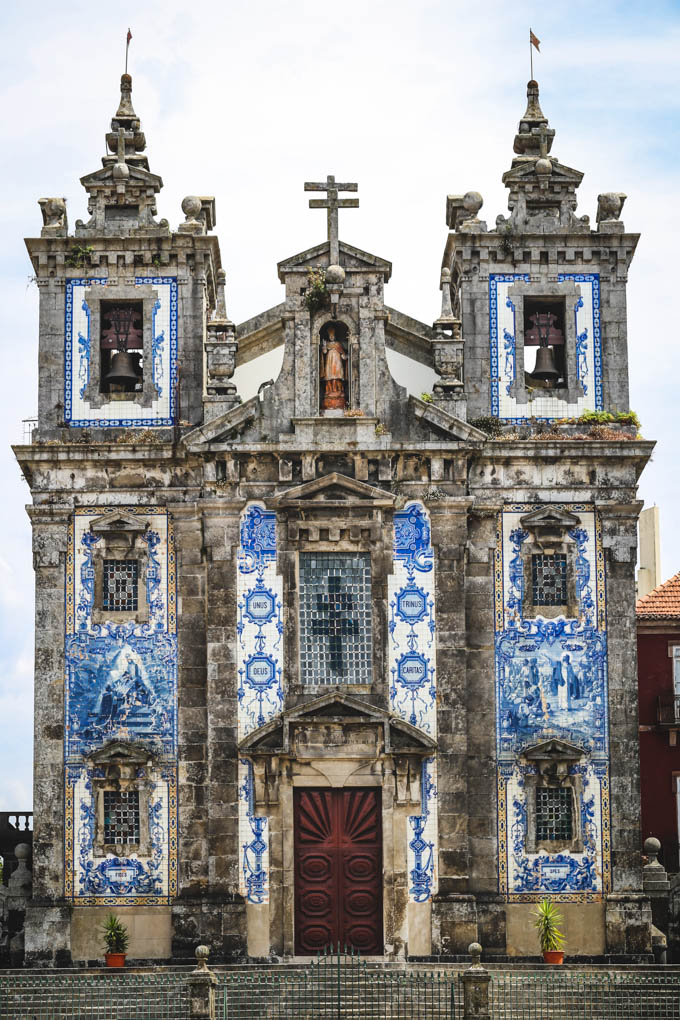 Church of Saint Ildefonso Porto