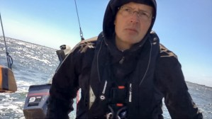 Mit Kapuze segeln