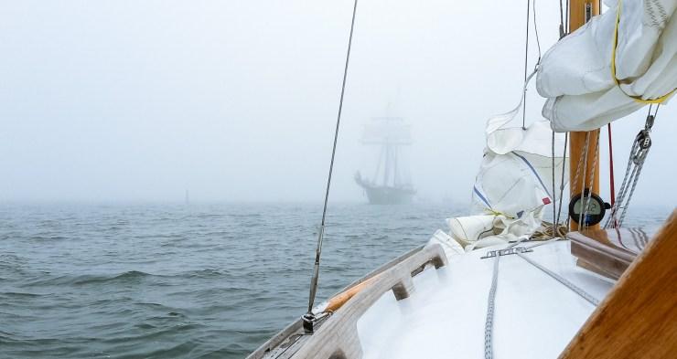 Nebel über der Schlei